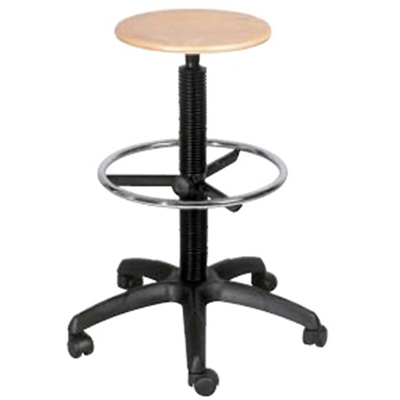 Laboratorijska stolica 140 work stool wood